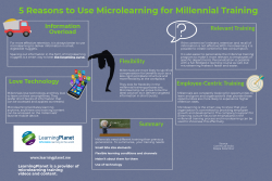 5 reasons to use ML for Millenial Training