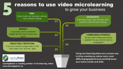 5 reasons to use video microlearning