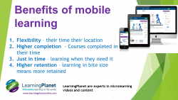 Benefits of mobile learning Intl