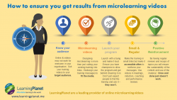 How to get results from microlearning videos